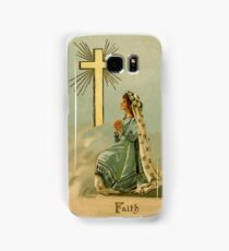 Vintage Faith devotional religious Samsung Galaxy Case/Skin