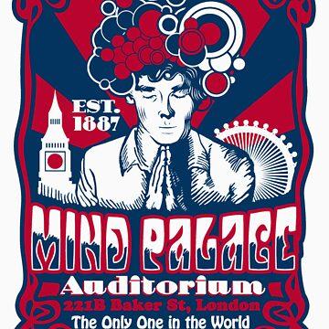 Mind Palace Auditorium by frauholle
