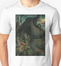 Hungarian horntail - With text version T-Shirt