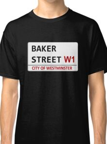 Baker Street Sign Classic T-Shirt
