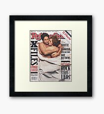 The X-Files 1996 Rolling Stone Cover Framed Print