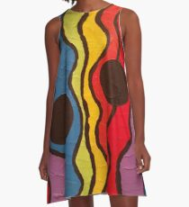 Traffic Light A-Line Dress