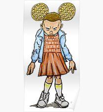 Eleven VS Minnie Mouse Poster