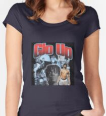 Chief keef glo up shirt Women's Fitted Scoop T-Shirt