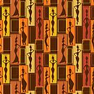 African Water Girl Pattern by rcurtiss000
