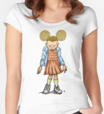 Eleven VS Minnie Mouse Women's Fitted Scoop T-Shirt