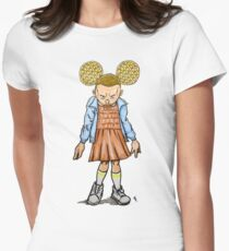 Eleven VS Minnie Mouse Women's Fitted T-Shirt