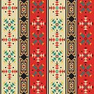 Modern Native American Pattern 2 by rcurtiss000