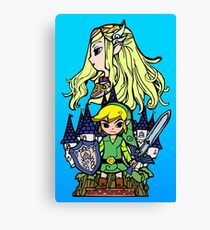 Hero of Time Canvas Print