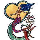 Mermaid Mantras: Love is Flow by mellierosetest