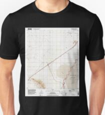 USGS TOPO Map Arizona AZ Red Bird Hills 313042 1996 24000 Unisex T-Shirt