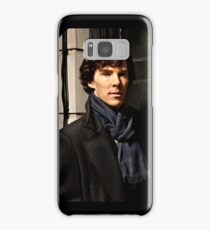 Sherlock at 221B Samsung Galaxy Case/Skin