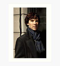 Sherlock at 221B Art Print