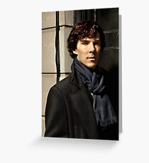 Sherlock at 221B Greeting Card