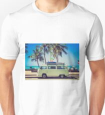 VW Bus/Camper holiday Unisex T-Shirt