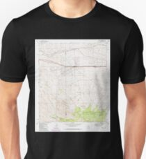 USGS TOPO Map Arizona AZ Mescal 312330 1973 24000 Unisex T-Shirt