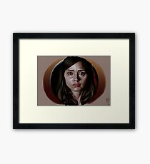 Oswin: The Most Human Human Framed Print