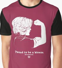 Proud To Be A Woman  Graphic T-Shirt