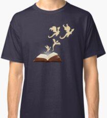 Buch Drachen Classic T-Shirt