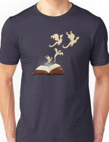 Book Dragons Unisex T-Shirt
