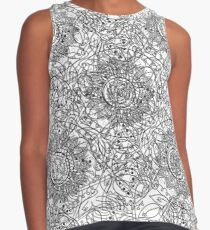 Chaotic abstract background Contrast Tank