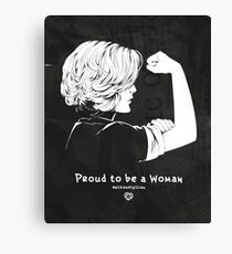 Proud To Be A Woman  Canvas Print