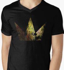 Kingdom Hearts Crown grunge universe Mens V-Neck T-Shirt