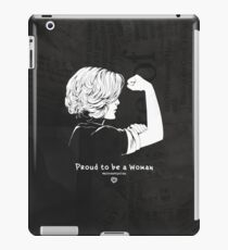 Proud To Be A Woman  iPad Case/Skin