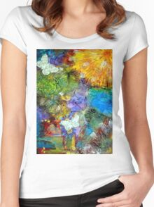 Let Everything with Breath SING- FINAL Women's Fitted Scoop T-Shirt