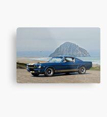 1965 Ford 'Moro Bay' Mustang G.T.350 Metal Print