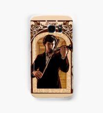 Art Nouveau Sherlock: The Violinist Samsung Galaxy Case/Skin