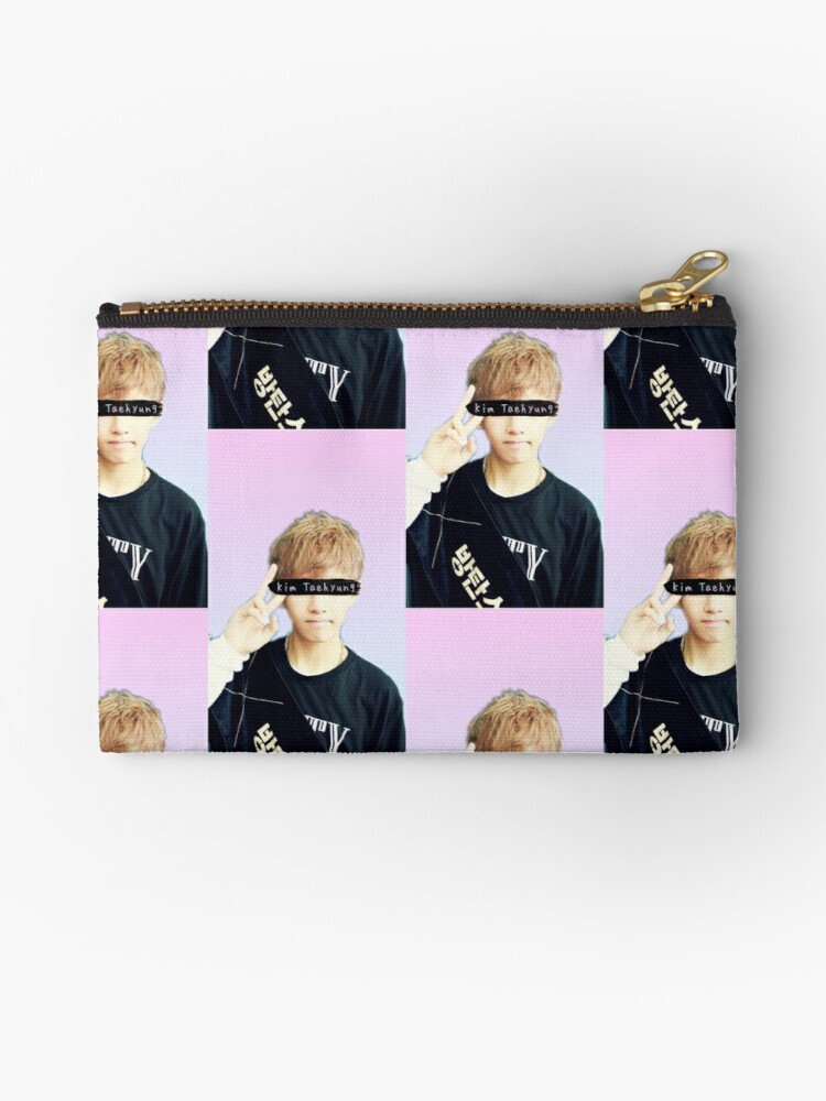 Kim Taehyung V Bts Collage Wallpaper Phone Case Studio Pouches By