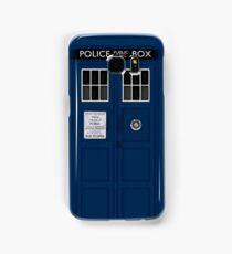 Police Public Call Box (main TARDIS) Samsung Galaxy Case/Skin