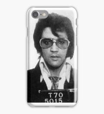 Elvis - Mug Shot iPhone Case/Skin
