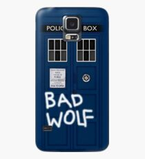 Police Public Call Box (w/ Bad Wolf) Case/Skin for Samsung Galaxy