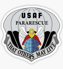 United States Air Force Pararescue Sticker