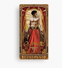 Art Nouveau Sherlock Canvas Print