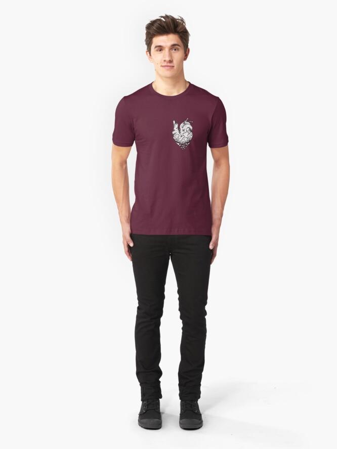 Alternate view of Falling Apart Slim Fit T-Shirt