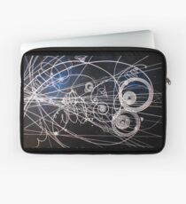 Particle trails Laptop Sleeve