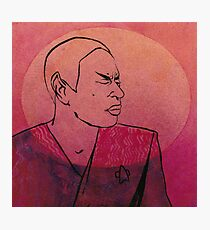 """Tuvok from """"Riddles"""" Photographic Print"""