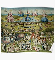 Charming The Garden Of Earthly Delights Poster