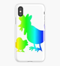Rainbow Poultry iPhone Case/Skin