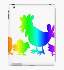 Rainbow Poultry iPad Case/Skin