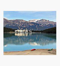 Lake Louise in Alberta Canada Photographic Print