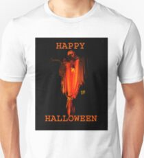 Happy Halloween from Pumpkin Man Unisex T-Shirt