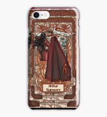 Arthur & Guinevere iPhone Case/Skin