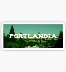 portlandia: logo  Sticker