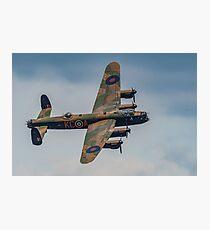 Avro Lancaster Bomber Photographic Print