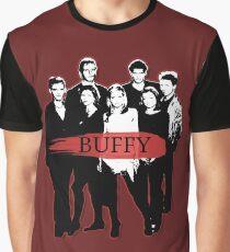 BTVS CAST (S3): The Scoobies! Graphic T-Shirt