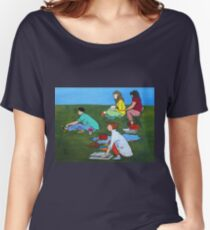 Plein Air Exercises Women's Relaxed Fit T-Shirt